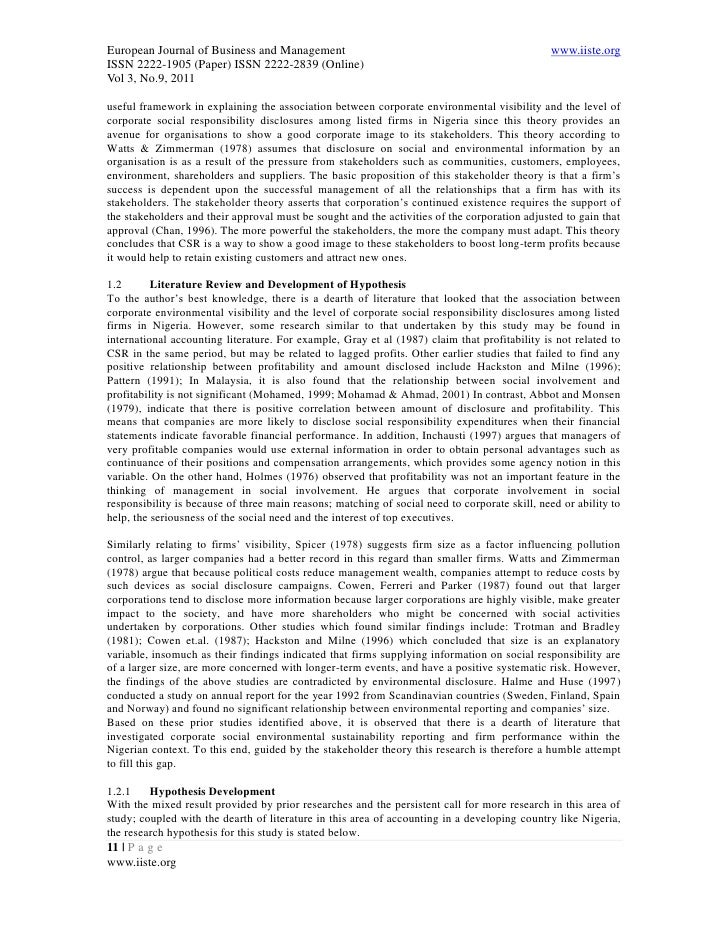 corporate social responsibility disclosure in malaysia By nik nazli nik ahmad, maliah sulaiman,and dodik siswantoro abstract: our paper focuses on corporate social responsibility (csr) disclosures made by 98.