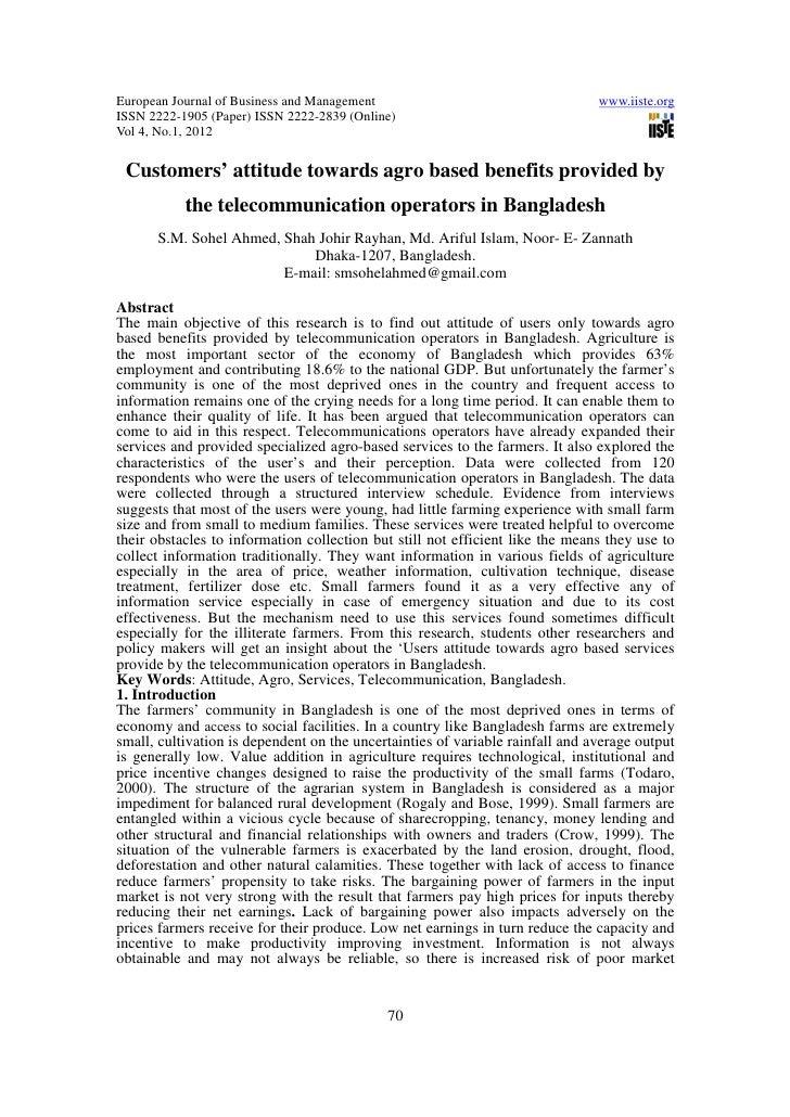 European Journal of Business and Management                                    www.iiste.orgISSN 2222-1905 (Paper) ISSN 22...