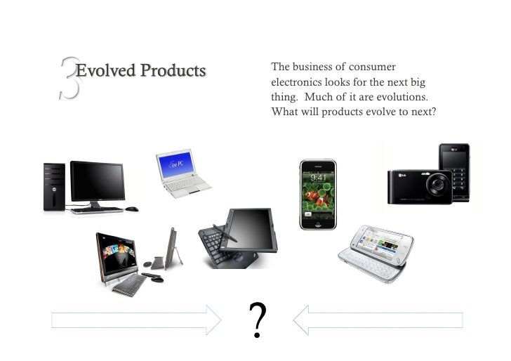 3 Understanding a user's needs and how they engage with a product or technology is the key to a successful evolution.