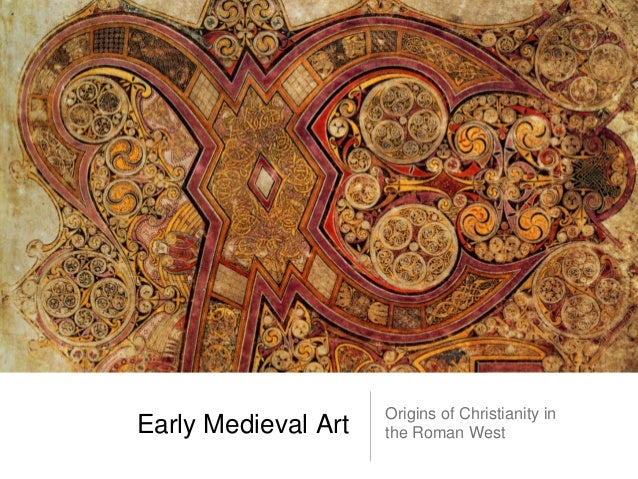 Origins of Christianity inEarly Medieval Art   the Roman West