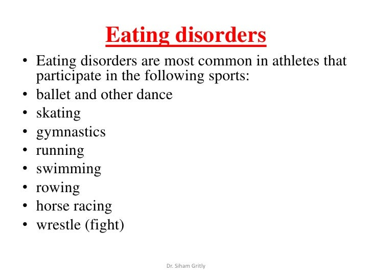 eating disorders and dance So, random guy standing outside the dance studio, what do i know about body-hatred i know how all consuming it is i remember being tired and weak while i tried to dance with an eating disorder and instead i should have been feeling powerful and amazing.
