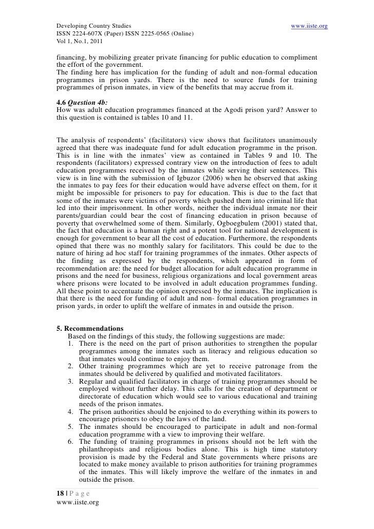 Advantages and disadvantages of private prisons and jails essay