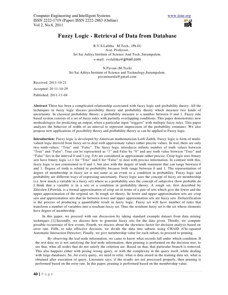 Computer Engineering and Intelligent Systems                                                www.iiste.orgISSN 2222-1719 (P...