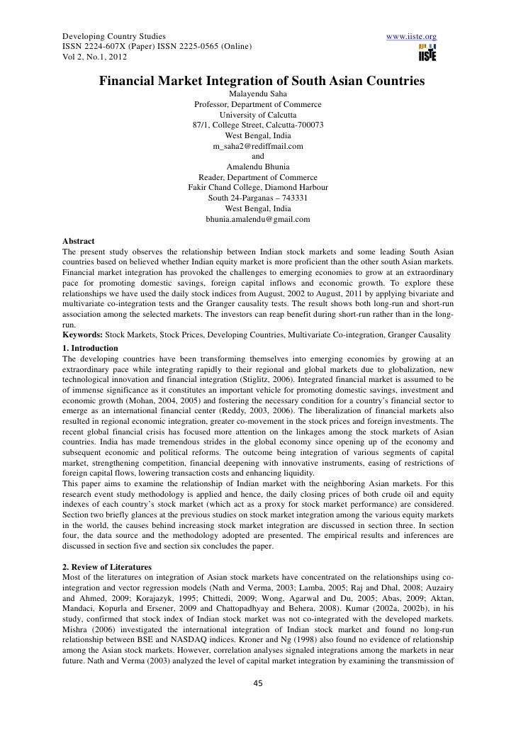 Developing Country Studies                                                                   www.iiste.orgISSN 2224-607X (...