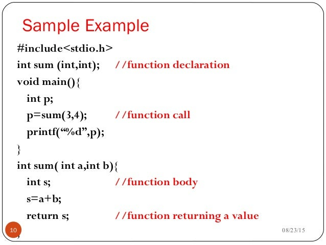 11 functions