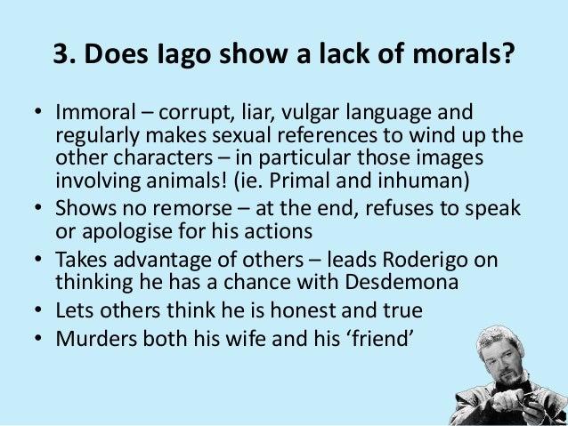 iago character traits