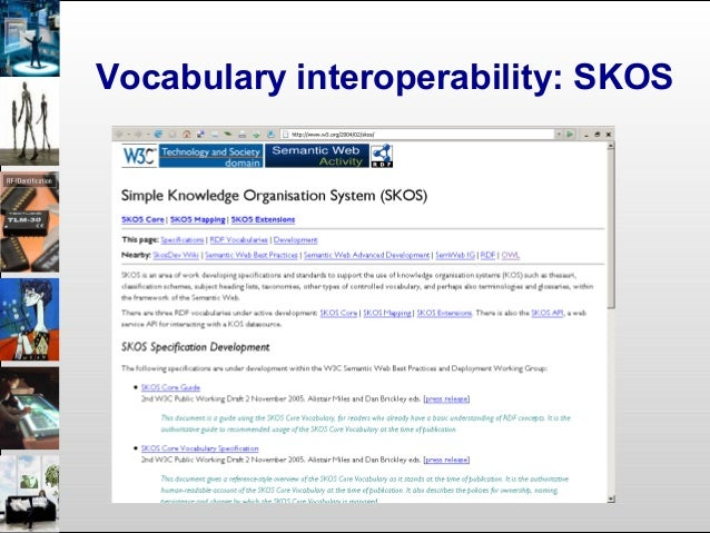 The myth of a unified vocabulary • In large virtual collections there are always multiple vocabularies – In multiple langu...