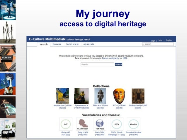 My journey access to digital heritage