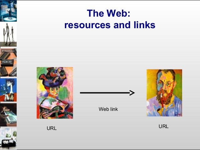 The Web: resources and links URL URL Web link