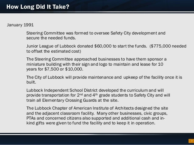 Safety City Lubbock: From Then to Now