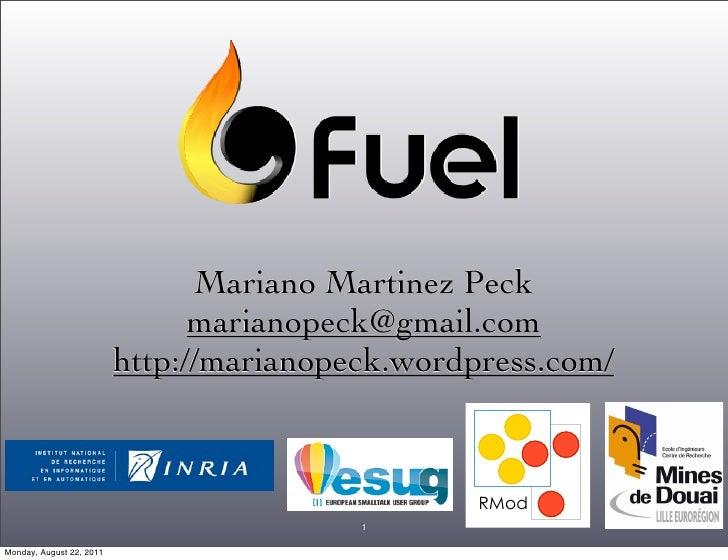 Mariano Martinez Peck                                marianopeck@gmail.com                          http://marianopeck.wor...