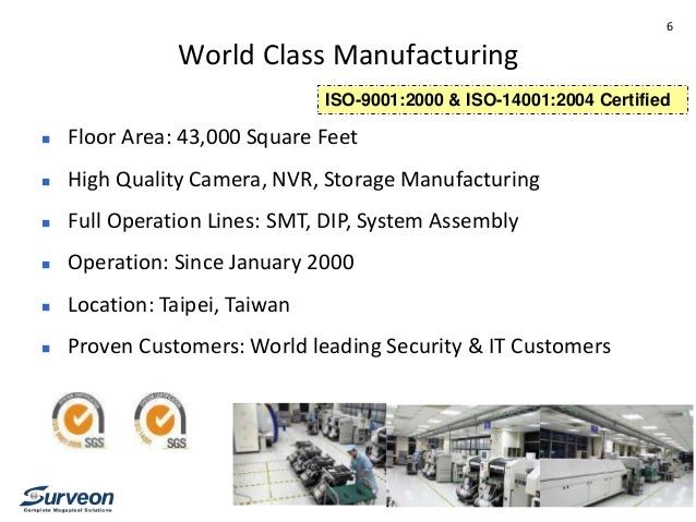 Surveon Design Amp Manufacturing Oem Services