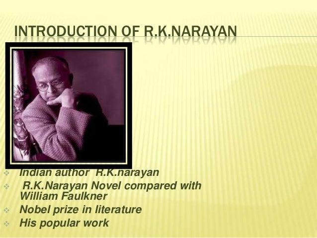 A hero rk narayan essay