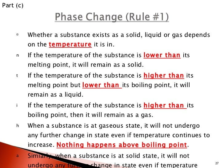 The State Of A Substance At Room Temperature Depends On