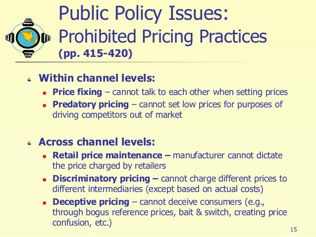 issues on pricing strategy Grocers, mass merchants, fast-food restaurant chains and other retailers that sell to consumers are increasingly implementing third-party pricing software.