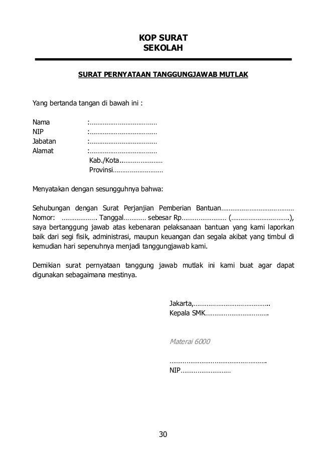 contoh surat dinas kementerian keuangan surat 0