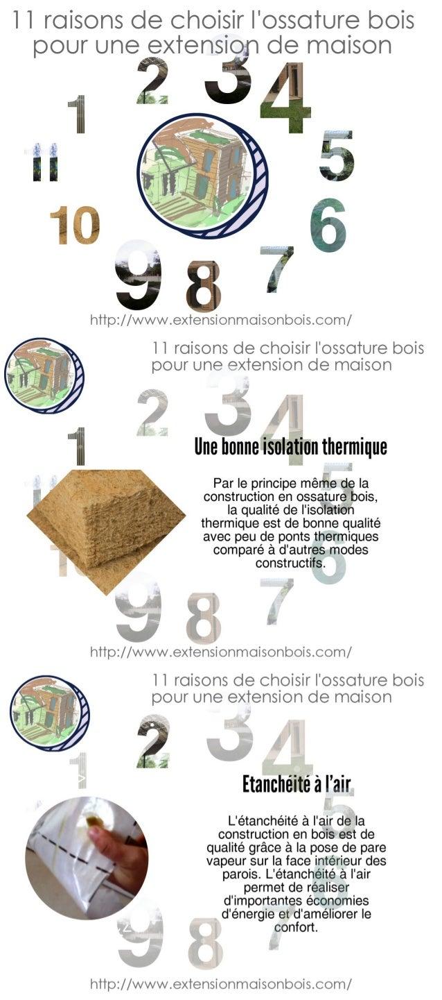 11 raisons de choisir l'ossature bois pour une extension de
