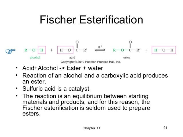 preparing esters by esterification method using Simple and efficient method of steglich esterification of juglone esterification using a to prepare esters from alcohols.