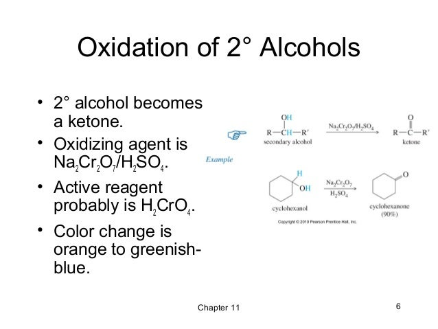 11 - Reactions of Alcohols - Wade 7th