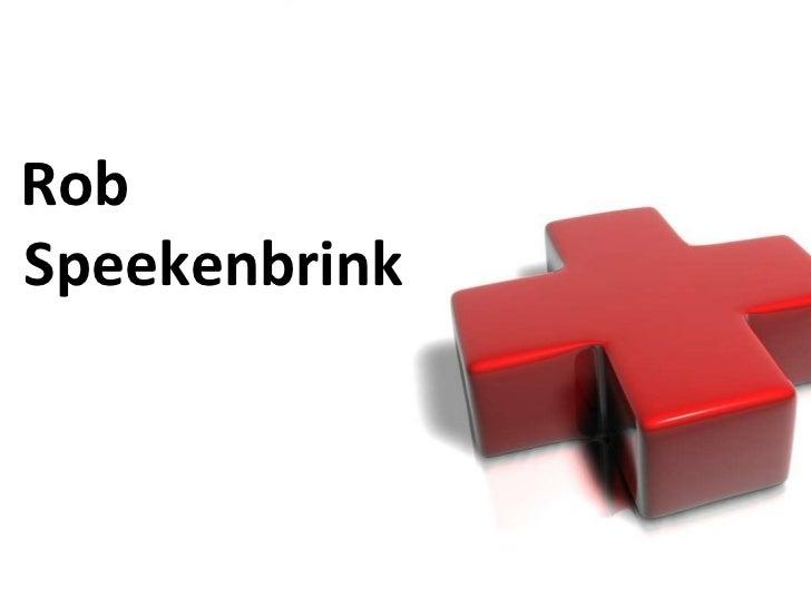 Rob Speekenbrink