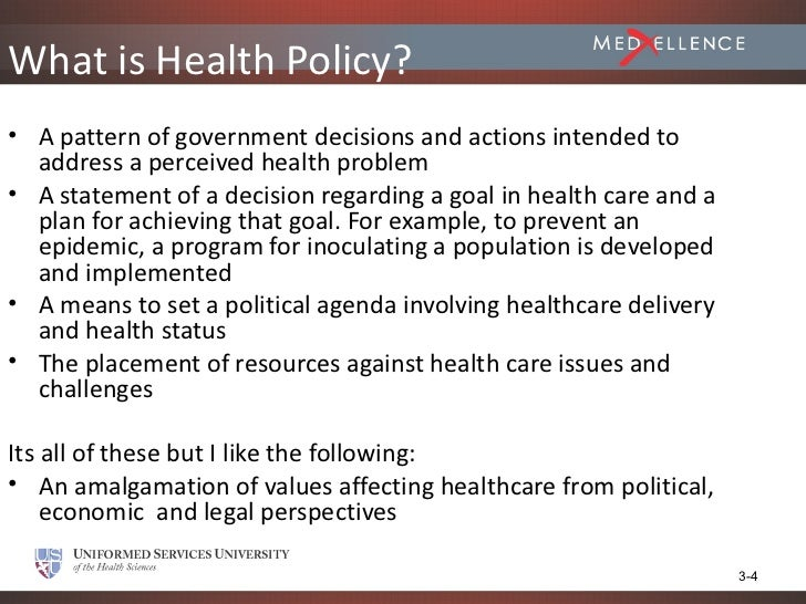 session 3 - healthcare policy content - diehl