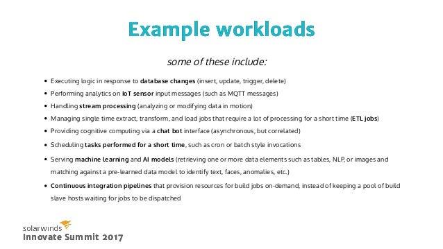 Surveillance - Common Use CasesSurveillance - Common Use Cases Innovate Summit 2017Innovate Summit 2017 Text
