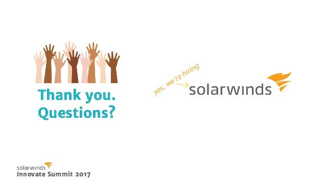 The SolarWinds and SolarWinds Cloud trademarks are the exclusive property of SolarWinds Worldwide, LLC and its affiliates a...