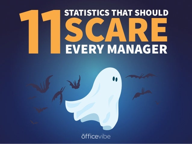 11 STATISTICS THAT SHOULD SCAREEVERY MANAGER