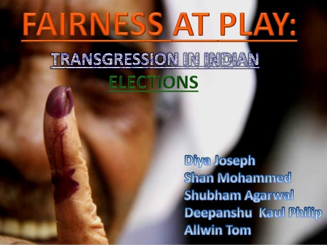 THE GREAT INDIAN ELECTIONS!