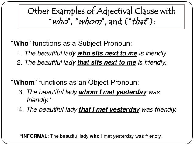adjective dependent clause examples