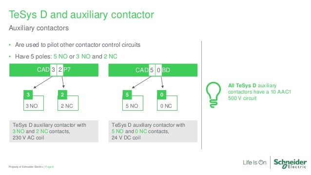 motor control tesys d contactors briefing tesys d