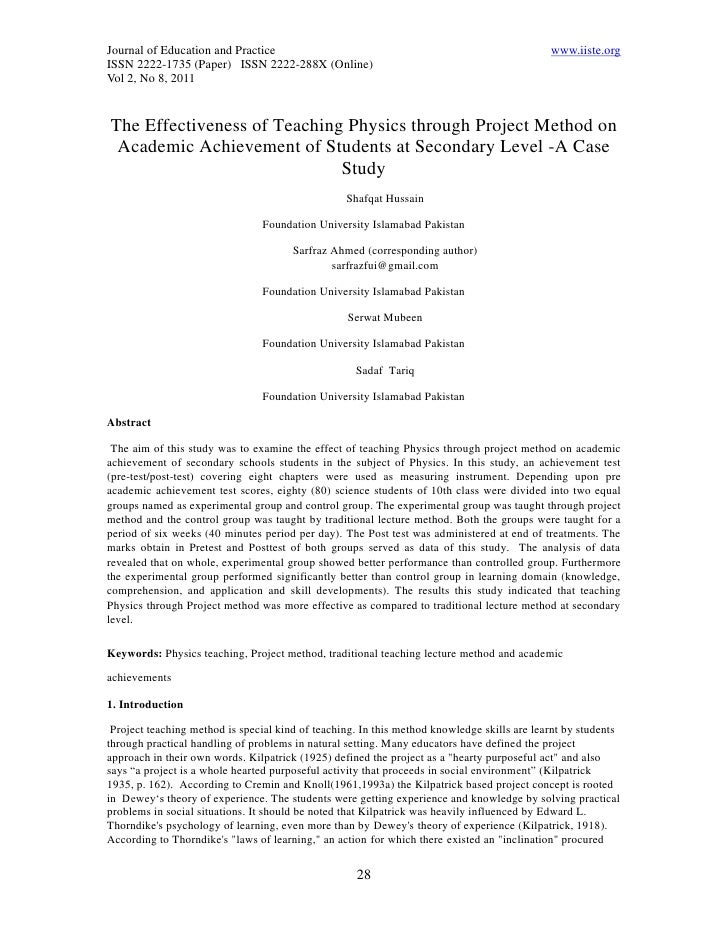 Journal of Education and Practice                                                            www.iiste.orgISSN 2222-1735 (...