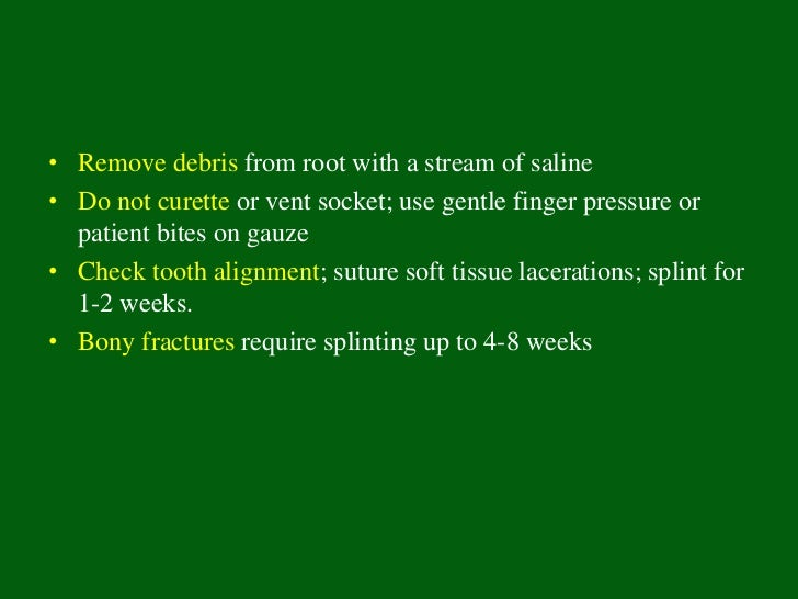 Periodontal Ligament              Responses• Surface resorption -• Inflammatory resorption• Replacement resorption
