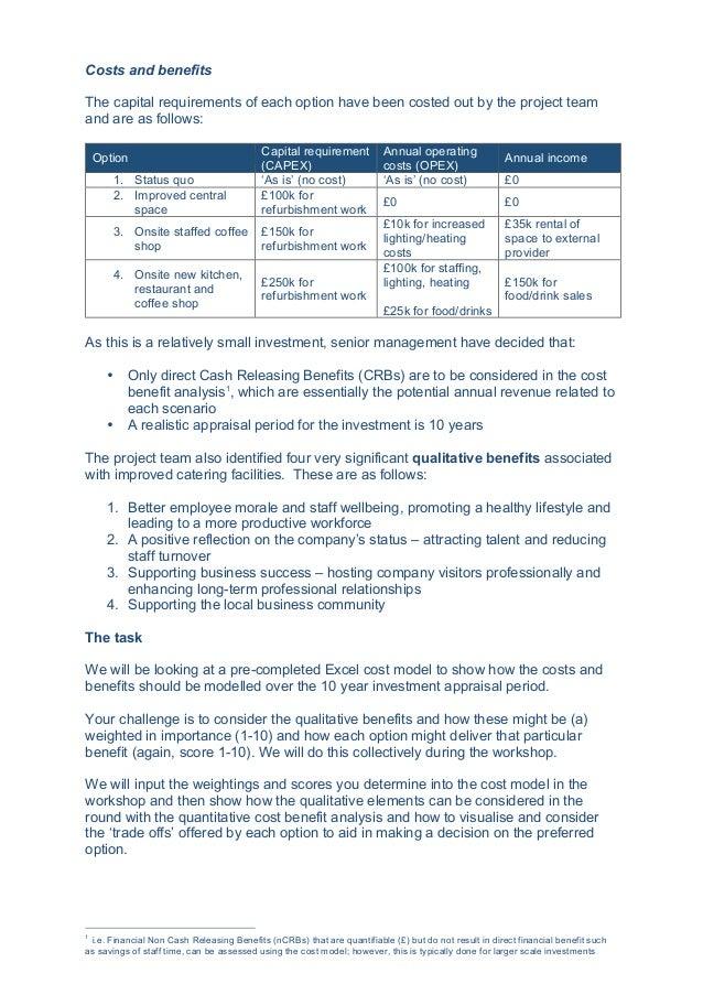 A practitioner's guide to evaluating benefits in business cases, workshop 4, Stefan Sánchez & Alan Brown, London, 23 June 2016 Slide 3