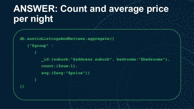 MongoDB local DC 2018: Tutorial - Data Analytics with MongoDB