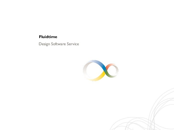 FluidtimeDesign Software Service