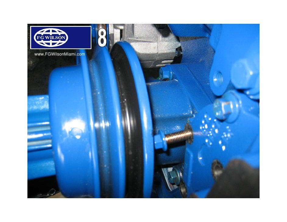 1100 Series Perkins Fuel Pump Removal