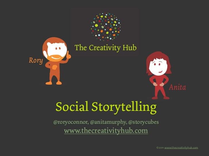 Rory                                                     Anita       Social Storytelling       @roryoconnor, @anitamurphy,...