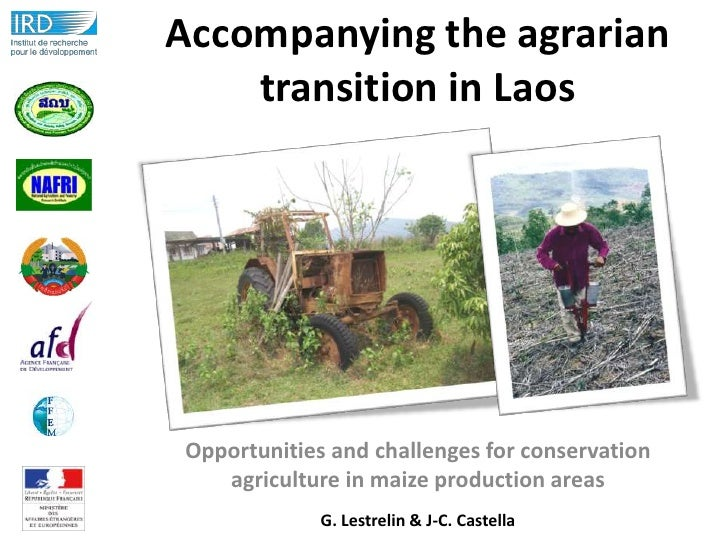 Accompanying the agrarian    transition in LaosOpportunities and challenges for conservation   agriculture in maize produc...