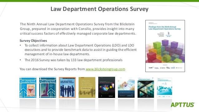 Legal Ops Needs Legal Tech: Developing an Effective