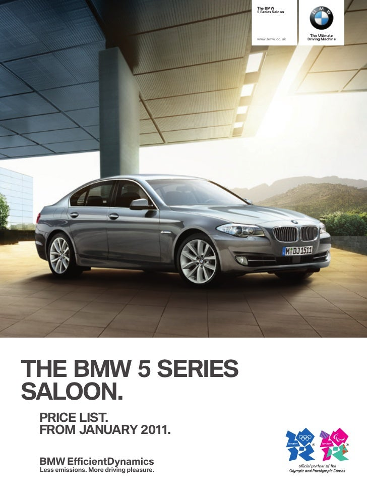 The BMW                      5 Series Saloon                                         The Ultimate                      www...