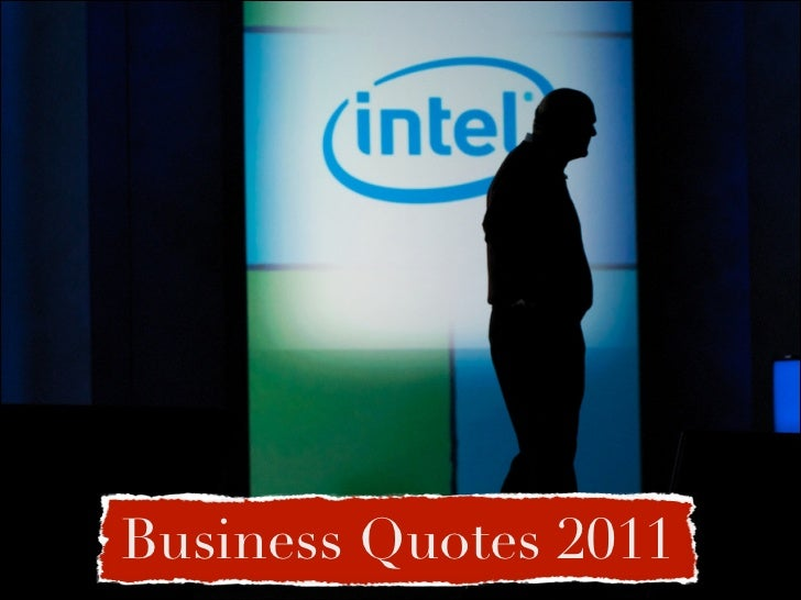 Business Quotes 2011