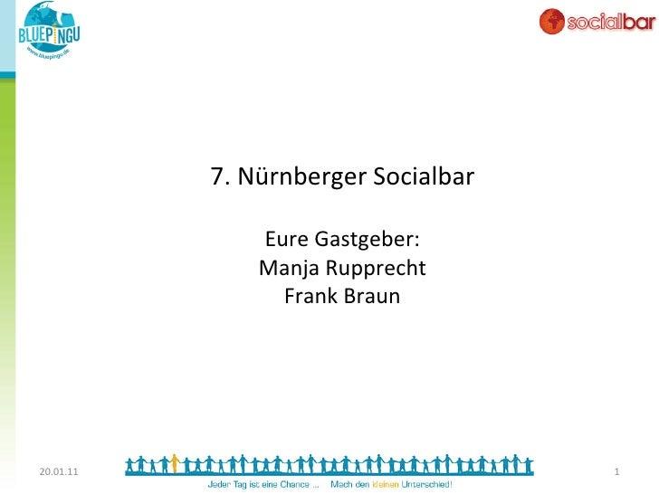 7. Nürnberger Socialbar                                                  Eure Gastgeber:                     M...