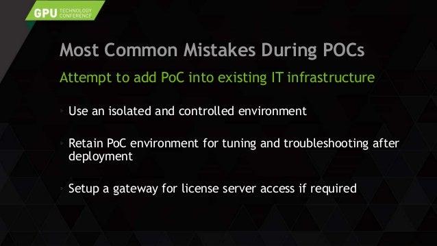 1102: GRID 技術セッション 3:vGPU Top10 PoC Survival Tips Slide 3