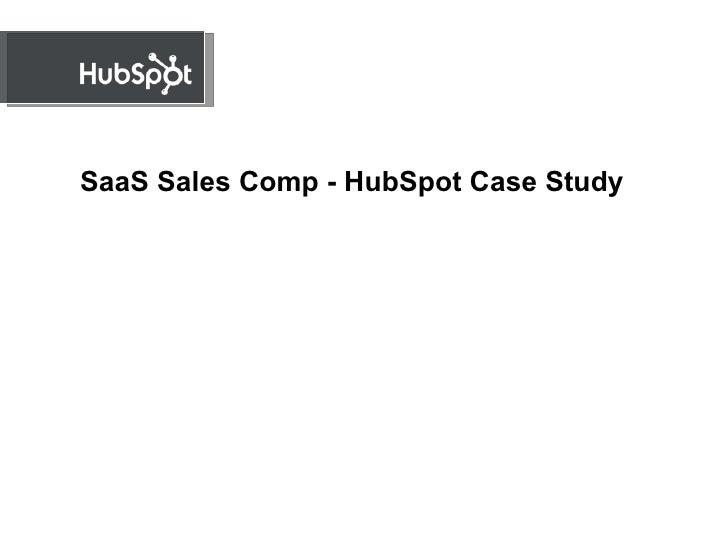 SaaS Sales Comp - HubSpot Case Study