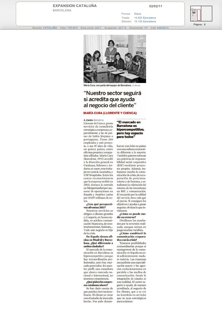 EXPANSION CATALUÑA                                                               02/02/11              BARCELONA          ...