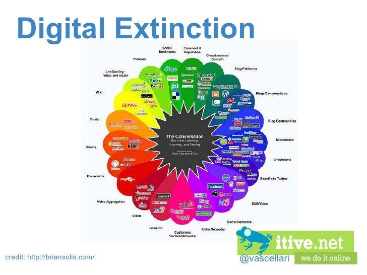 @vascellari Digital Extinction credit: http://briansolis.com/