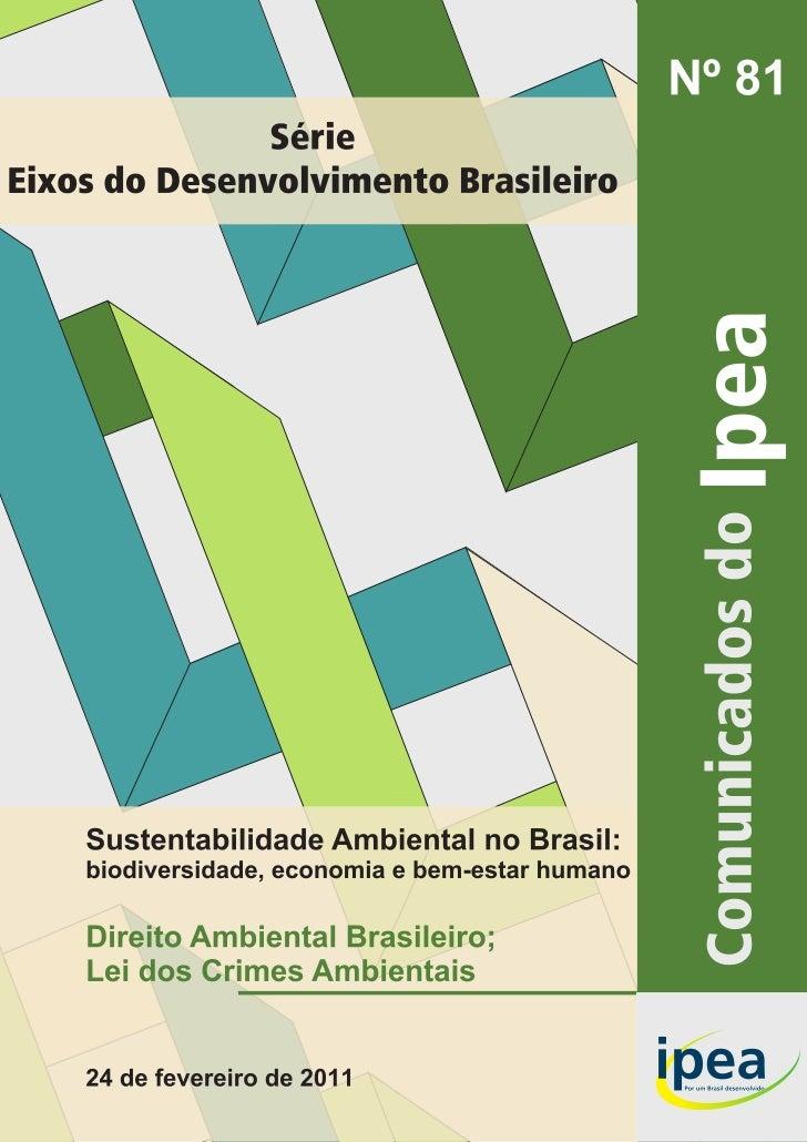Governo Federal                                 Comunicados do IpeaSecretaria de Assuntos Estratégicos daPresidência da R...