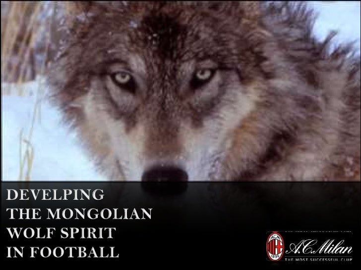 DEVELPING<br />THE MONGOLIAN<br />WOLF SPIRIT<br />IN FOOTBALL <br />