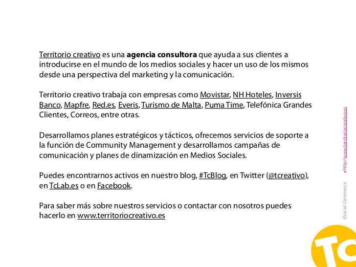 Social Commerce: el uso de los medios sociales en la venta Slide 2